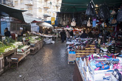 Marché de Ballaro à Palerme Photo stock
