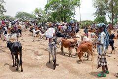 Marché de Bati Images libres de droits