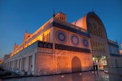 Marché de bleu du Charjah Photo libre de droits