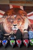 Marché de blocage de Camden, Londres Image libre de droits