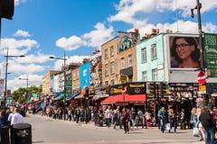 Marché de Camden Town Photo stock