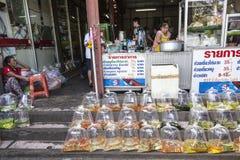 Marché de Chatachuk à Bangkok Images libres de droits