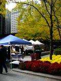 Marché de Chicago Photographie stock libre de droits