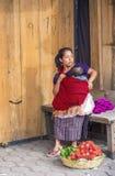 Marché de Chichicastenango Photographie stock