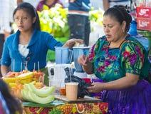 Marché de Chichicastenango Photos libres de droits