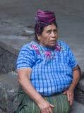 Marché de Chichicastenango Images libres de droits