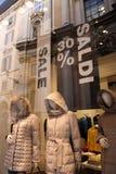 Marché de Condotti à Rome Image stock