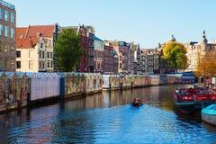 Marché de fleur à Amsterdam Photos stock
