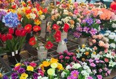 Marché de fleur Images libres de droits