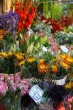 Marché de fleur de route de Colombie à Londres image stock