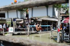 Marché de flottement de l'eau de boxe Photo libre de droits