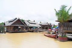 Marché de flottement de Pattaya Photographie stock libre de droits