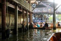 Marché de flottement de la Thaïlande image stock
