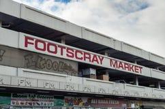 Marché de Footscray Images stock