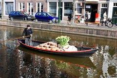 Marché de fromage à Alkmaar Image stock