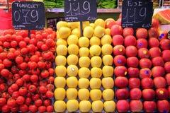 Marché de fruit Photos libres de droits