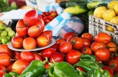 Marché de fruit image stock