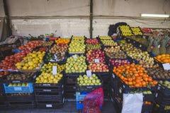 Marché de fruit d'agriculteurs Photos stock