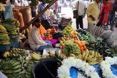 Marché de fruit dans Kolkata Image libre de droits
