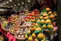Marché de fruit municipal du marché image libre de droits