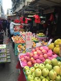 Marché de fruit traditionnel image stock
