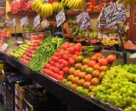 Marché de fruits Image stock