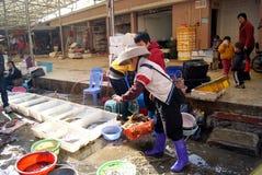 Marché de fruits de mer Image stock