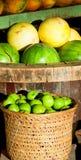 Marché de fruits tropicaux Image stock