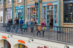 Marché de jardin de Covent, attraction touristique principale à Londres, R-U photographie stock