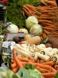 Marché de légumes Photos stock