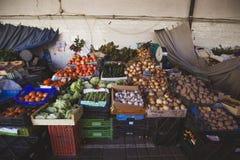 Marché de légumes d'agriculteurs Image stock