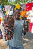 Marché de Maputo Staurday Image libre de droits