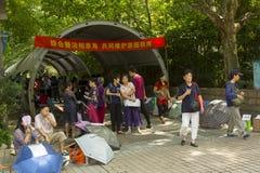 Marché de mariage à Changhaï, Chine Photographie stock