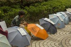 Marché de mariage à Changhaï, Chine Photos stock
