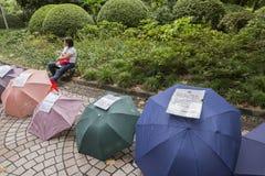 Marché de mariage à Changhaï, Chine Images libres de droits