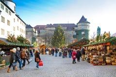 Marché de Noël à Stuttgart photo libre de droits