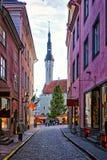 Marché de Noël à Tallinn Image libre de droits