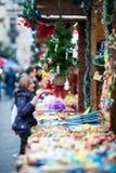 Marché de Noël Photo libre de droits