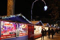 Marché de Noël Arkivbild