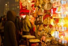 Marché de Noël images libres de droits