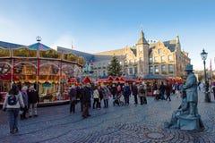 Marché de Noël Image libre de droits