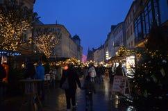 Marché de Noël Photos stock
