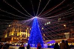 Marché de Noël, Budapest, Hongrie Images stock