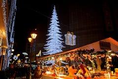 Marché de Noël, Budapest, Hongrie Photo stock