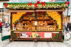 Marché de Noël de Christkindlmarkt Photo stock