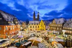 Marché de Noël dans Goslar, Allemagne photo libre de droits