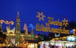 Marché de Noël de Vienne images stock
