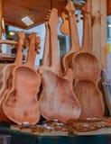 Marché de Noël Woodenwork Image libre de droits