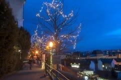 Marché de Noël, Zagreb, Croatie photos libres de droits