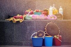 Marché de nourriture au Belarus Image stock